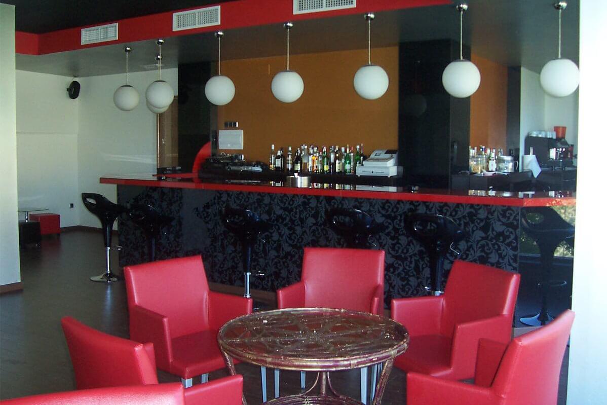cafeteria hotel las fuentes restaurante bacares